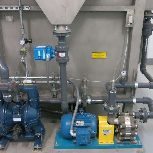 DAF pumps, DAF aeration